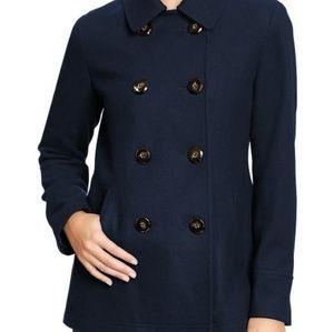 Old Navy Blue Wool Blend Peacoat XXL